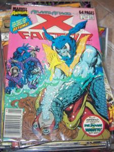 X-Factor  Annual #4 1989 marvel atlantis attacks inferno aftermath mutants