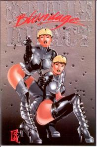 DOUBLE IMPACT (1995 HIGH IMPACT) 3 (BLONDAGE CVR VARIAN COMICS BOOK