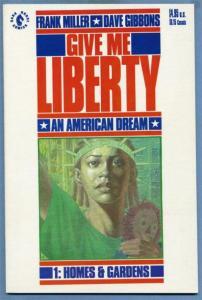 GIVE ME LIBERTY #1, NM, American Dream, Frank Miller, Dark Horse, 1990