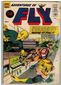 ADVENTURES OF THE FLY 20 FR-G July 1962