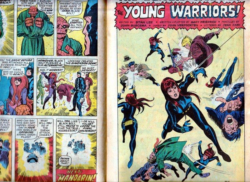 Amazing Adventures(vol.1)# 2  INHUMANS and Black Widow !!