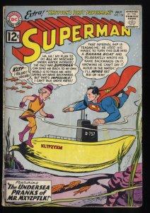 Superman #154 GD 2.0