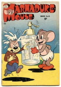 Marmaduke Mouse #45 1954- Golden Age Funny Animals VG