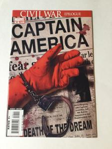 Captain America 25 Nm Near Mint Death Of Captain America