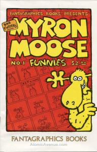 Myron Moose Funnies (2nd Series) #1 VF/NM; Fantagraphics | save on shipping - de