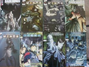 8 image DW DARK MINDS Comic Book #4 #6 #7 Macropolis #1 #2 #3 #4 #4 (2000 2002)