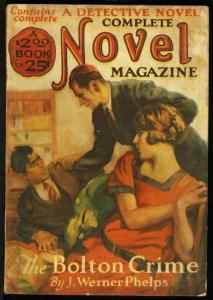 COMPLETE NOVEL 1926 APR-RARE PULP VG