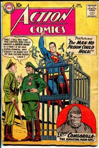 Action #248 1959-DC-Superman-1st Congorilla story, with origin-G+