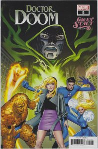 Doctor Doom #5 Gwen Stacy Variant