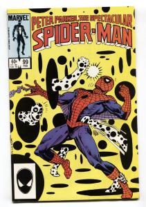 Spectacular Spider-Man #99 1985 First non-alien black costume - Comic Book