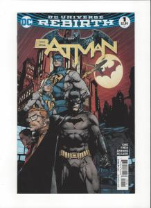 Batman #1 DC Universe Rebirth NM