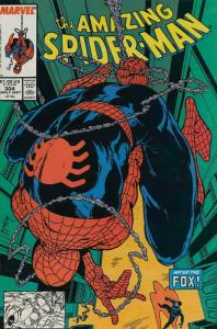 Amazing Spider-Man, The #304 VF/NM; Marvel | save on shipping - details inside