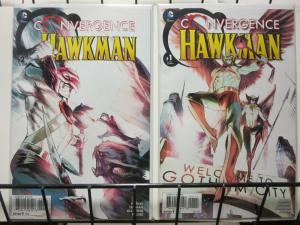 CONVERGENCE HAWKMAN (2015) 1-2 Parker & Truman COMPLETE COMICS BOOK