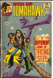 Tomahawk  #138 1972-DC-Son of Tomahawk-Kubert-Christmas-bondage-VF-