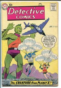 Detective #270 1959-DC-Robin-Batman-John Jones-parachute cover-VG