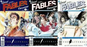 LITERALS (2009 VERTIGO) 1-3  'Great Fables' xover!