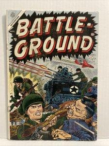 Battle Ground #1 Joe Maneely Cover Early Reinmann Art 1954 Atlas