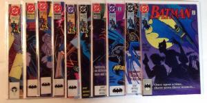 Batman 461 462 463 464 465 466 467 468 469 470 9.2 Or Better Lot Set Run
