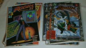 Robin #0,1-23 (minus 3) + 3000 Dixon Joker Huntress Gotham 442, comics lot of 46