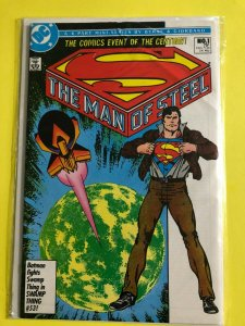 SUPERMAN   THE MAN OF STEEL MINI SERIES   #1 OF 6  1986  DC  /  UNREAD