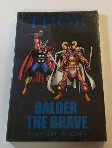 Thor: Balder The Brave Hard Cover Graphic Novel New Sealed