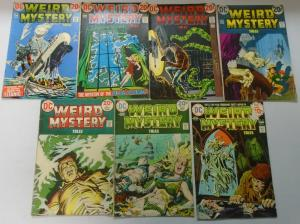 DC Horror Comic Lot Weird Mystery Tales From:#2-23, 14 Diff Avg 4.0 VG (1972-75)