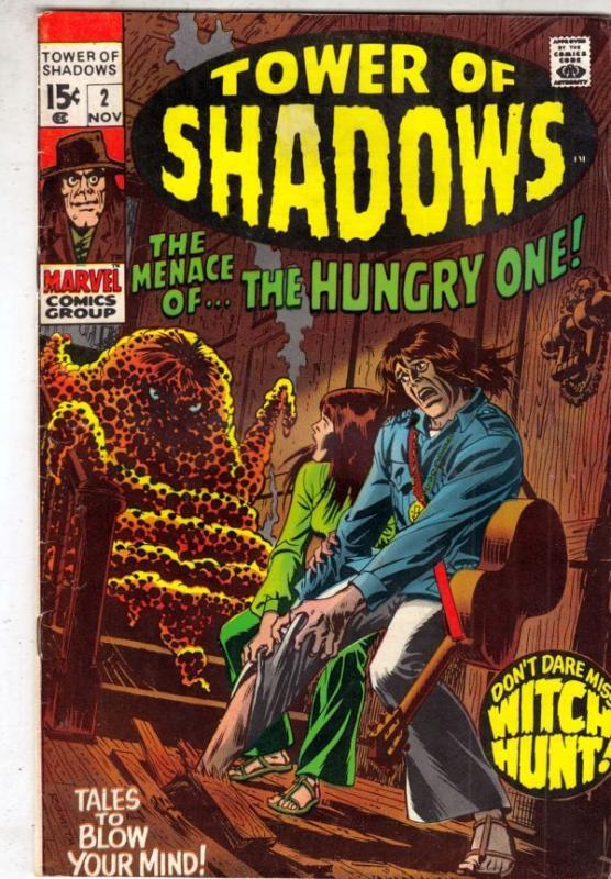 Tower of Shadows 2 strict VF/NM 9.0 1969 Wythville Pedigree  more at Kermitspad