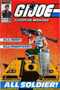 G.I. Joe European Missions #12 VF; Marvel | save on shipping - details inside