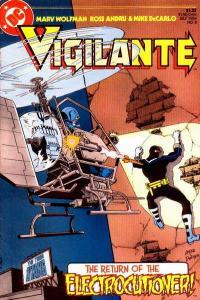 Vigilante (1983 series) #8, NM (Stock photo)