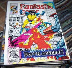 FANTASTIC FOUR #368  Marvel    COPPER AGE   INFINITY WAR dopplegangers