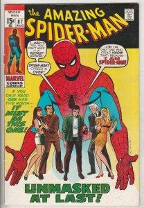 Amazing Spider-Man #87 (Aug-70) VF High-Grade Spider-Man
