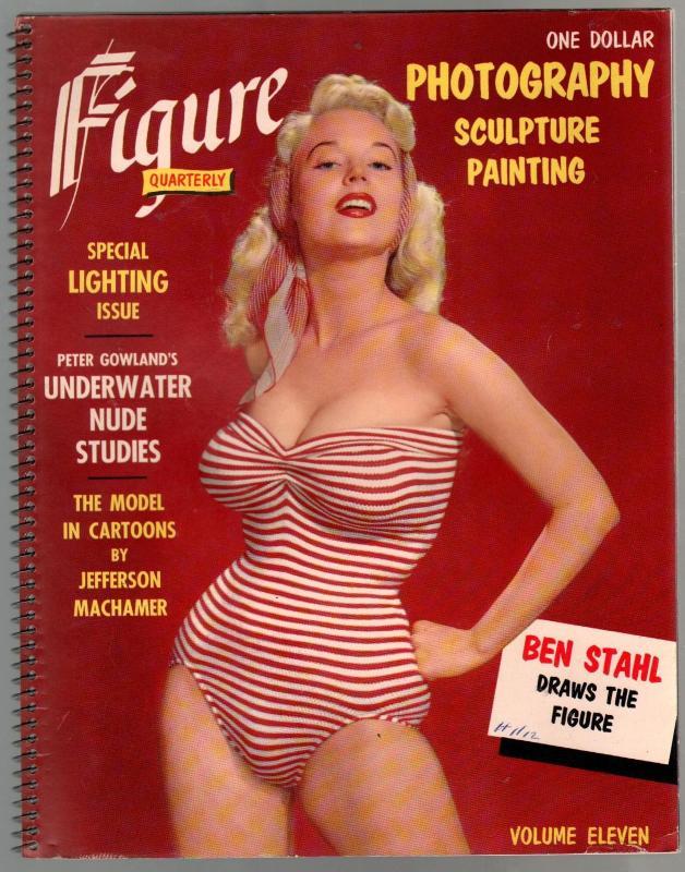 Figure Quarterly #11 -Cheesecake-Jefferson Machamer-Betty Brosmer