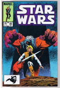 STAR WARS #89, VF, Luke Skywalker, Darth Vader, 1977, more SW in store