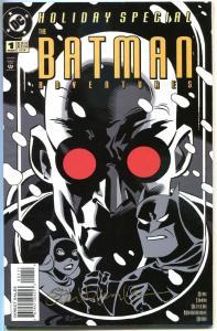 BATMAN ADVENTURES Holiday Special #1, FN, Harley Quinn,1995, Signed by Murakami
