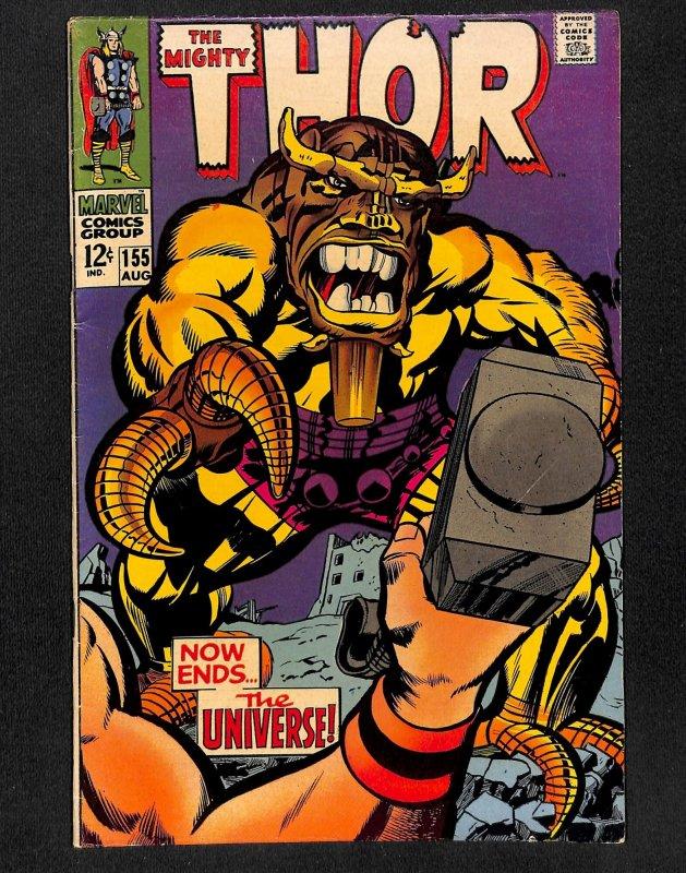 Thor #155 (1968)