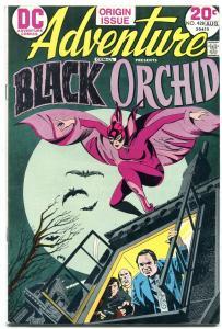 ADVENTURE COMICS #428-BLACK ORCHID ORIGIN-BRONZE AGE DC FN+