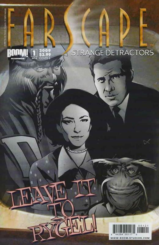 Farscape: Strange Detractors #1B VF/NM; Boom! | save on shipping - details insid