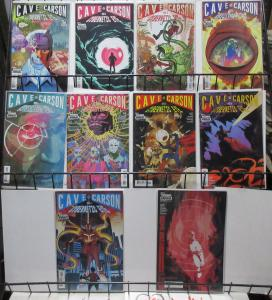 Cave Carson Has a Cybernetic Eye (DC Young Animal 2016) Lot #1-8, 11, 12