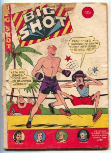 BIG SHOT #68 1946- Skyman- Charlie Chan- Joe Palooka  G-