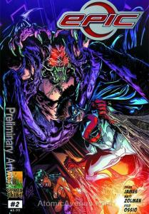 Epic (Comixtribe) #2 VF/NM; Comixtribe | save on shipping - details inside