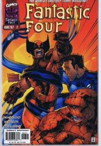 Fantastic Four #7 ORIGINAL Vintage 1997 Marvel Comics Wolverine