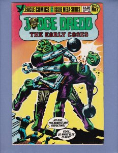 Judge Dredd The Early Cases #2 VG/FN Eagle Comics 1986