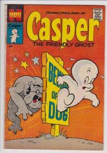 Casper the Friendly Ghost #62 (Nov 1957) GD/VG Harvey