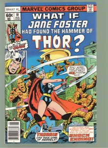 WHAT IF 10 1978 VF 1ST APP.JANE FOSTER AS THOR -FILM 2022!