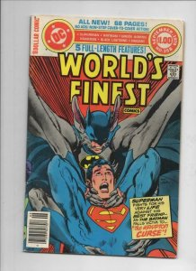 WORLD'S FINEST #258, VG+, Batman, Superman, Neal Adams, 1941 1979, more in store