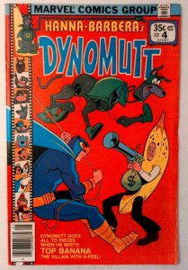 Dynomutt #4 Marvel 1978 VF Bronze Age Comic Book 1st Print