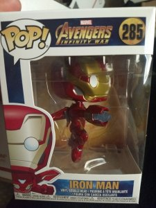 Iron Man Funko Pop #285 New in box