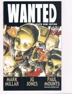 Wanted #4 VF Top Cow Death Row Edition Comic Book Waid DE6