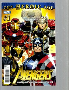 12 Marvel Comics The Avengers #1 16 21 22 23 24 24.1 25 26 27 28 29 J448