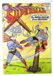 Superman (1939 series) #134, Fine (Actual scan)